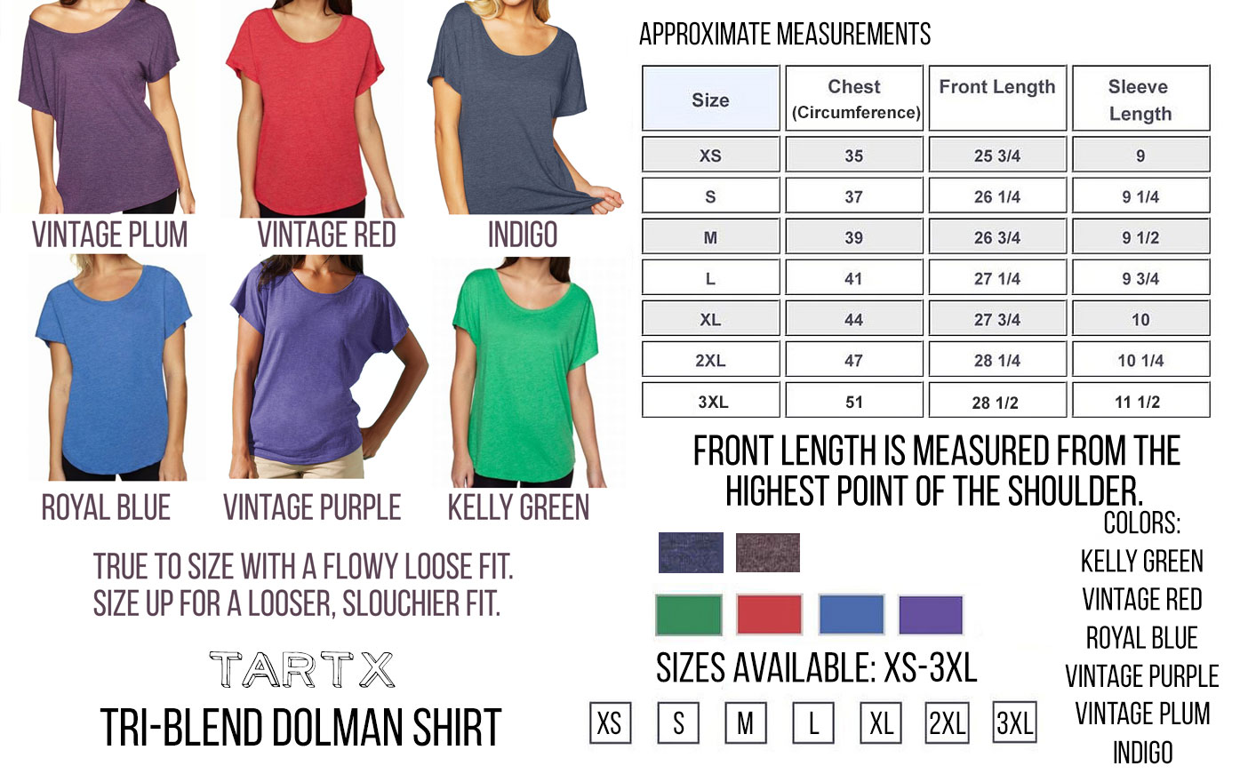 dolman-nl-sizechart