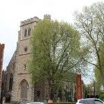 The former St Mary's Church, Lambeth – Resting place of Elizabeth Boleyn
