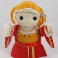Anne of Cleves Felt Doll