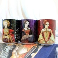 3 cup combo – Anne of Cleves, Catherine Howard and Catherine Parr