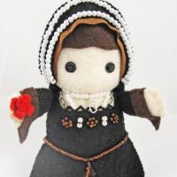 Anne Boleyn Felt Doll – Rose Portrait Edition