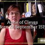 60 second history – Anne of Cleves