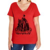 Anne Boleyn Curvy Fit V-neck T-shirt