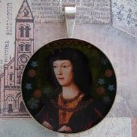 Young Henry VIII Grandioso Sterling Pendant