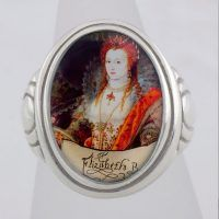 Elizabeth Rainbow Collectible Ring