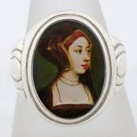 Anne Boleyn Gable Hood Ring