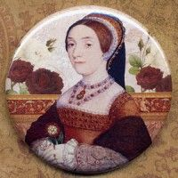 Catherine Howard Pocket Mirror