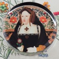 Katherine of Aragon Paperweight