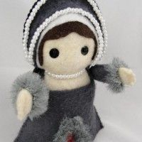 Anne Boleyn Execution Felt Doll