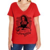 Catherine of Aragon Curvy Fit V-neck T-shirt