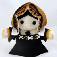 Catherine of Aragon Felt Doll