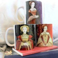 3 mug combo – Anne of Cleves, Catherine Howard and Catherine Parr
