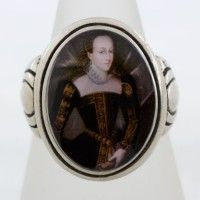 Mary Queen of Scots Portrait Ring