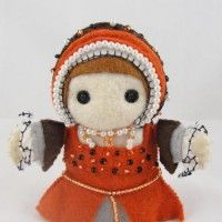 Catherine Howard Felt Doll