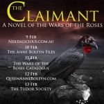 The Claimant: A Novel of the Wars of the Roses Book Tour Coming Soon!