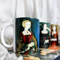 3 mug combo – Catherine of Aragon, Anne Boleyn and Jane Seymour