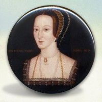 Anne Boleyn Portrait Pocket Mirror