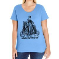 Anne Boleyn Curvy Fit Scoop-neck T-shirt