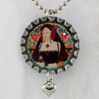 Katherine of Aragon Necklace – Bottle Cap Style