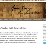 Cor Rotto: A Novel of Catherine Carey Book Tour Day 1 – Catherine Carey's Early Life