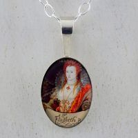 Elizabeth I Rainbow Portrait Minuscolo Pendant