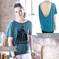 Anne Boleyn Alternative Pony Open Back T-shirt