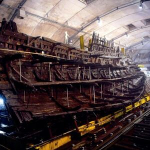 Bow to Stern  View of the Mary Rose