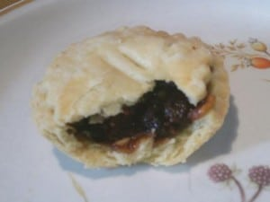 A modern day mince pie - made by me!