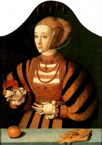 Anne of Cleves by Bartholomäus Bruyn the Elder