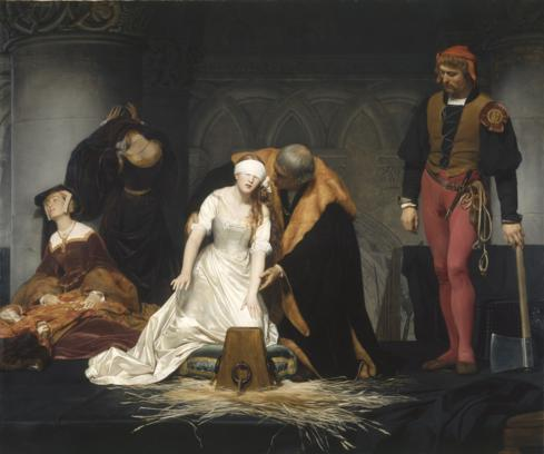 The Execution of Lady Jane Grey - Delaroche 1833