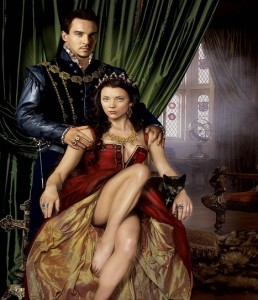 A promo shot for The Tudors