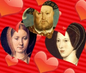 Henry VIII, Catherine of Aragon and Anne Boleyn