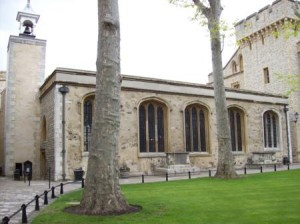 St Peter ad Vincula Chapel, Tower of London