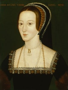 Anne Boleyn National Portrait Gallery portrait