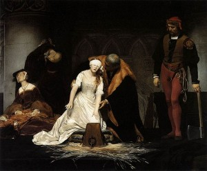 Lady Jane Grey delaroche