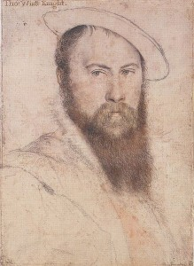 Thomas Wyatt by Hans Holbein