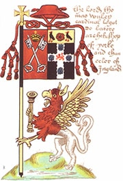 Banner of Thomas Wolsey