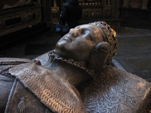 Frances Brandon tomb effigy