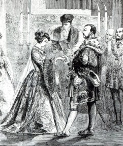 wedding Anne Boleyn and Henry VIII