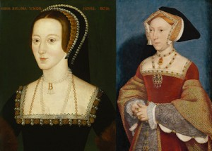 Jane Seymour and Anne Boleyn