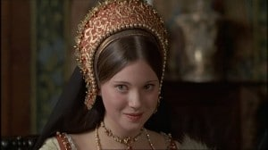 Lynne Frederick as Catherine Howard in Henry VIII and His Six Wives (1972)