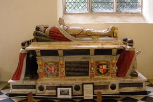 Tomb of Henry Howard at Framlingham