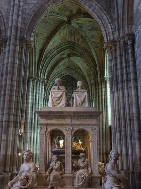 Mausoleum of Anne of Brittany and Louis XII