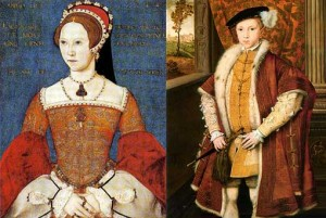 Mary I and Edward VI