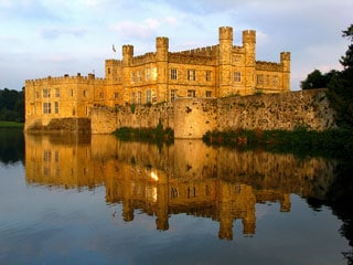 The winning photo from our last photographic competition - Leeds Castle by Darren Wilkins