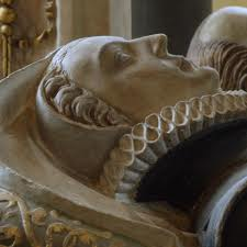 Effigy of Catherine Knollys, courtesy of Eric Hardy