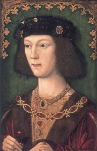 The new king, the young Henry VIII