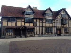 My photo of Shakespeare's Birthplace
