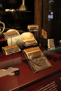 Nit combs from the Mary Rose