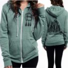 Anne Boleyn Rocky Eco-Fleece Hoodie